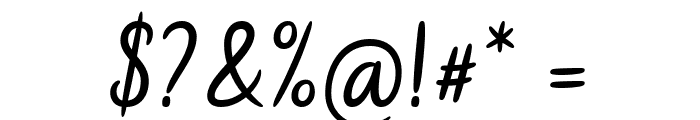 Hidea Font OTHER CHARS