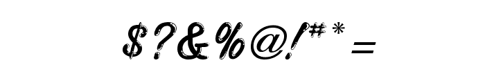 Highstakes Regular Font OTHER CHARS
