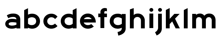 Highway Gothic Expanded Font LOWERCASE