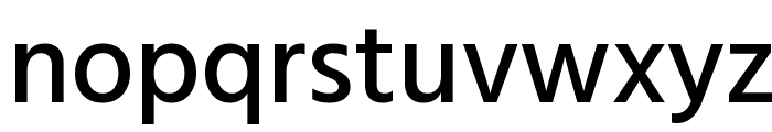 Hind Siliguri Medium Font LOWERCASE