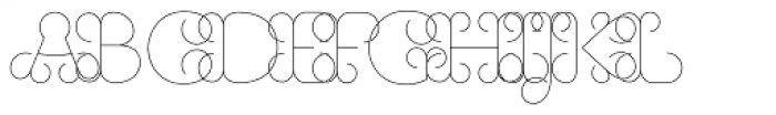 History Eighteen Font LOWERCASE
