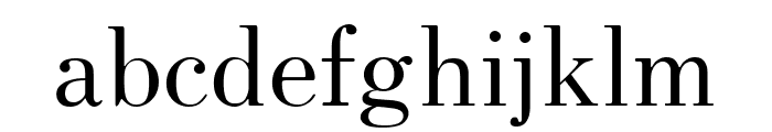 HK Venetian Regular Font LOWERCASE