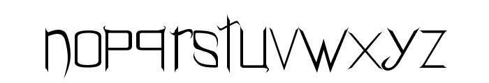 Holitter Gothic Font LOWERCASE