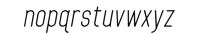 Home Planet BB Italic Font LOWERCASE