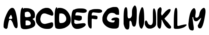 holiday earlier Font LOWERCASE