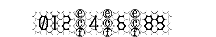 honeycomb [eval] Font OTHER CHARS