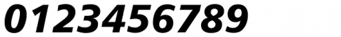 Humanist 777 Black Italic Font OTHER CHARS