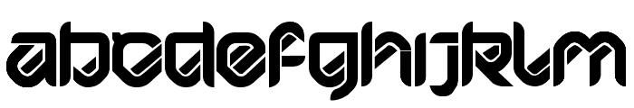 HYPD BD Bardust Remix Font LOWERCASE