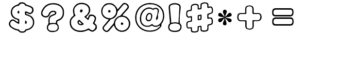 HY Cai Yun Simplified Chinese BJ Font OTHER CHARS