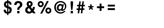 HY Gothic Extrabold Font OTHER CHARS