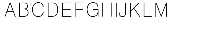 HY Gothic Light Font UPPERCASE