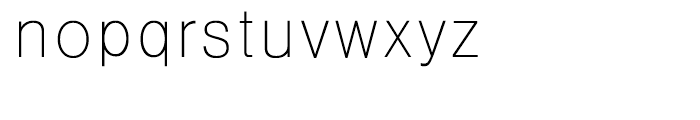 HY Gothic Light Font LOWERCASE