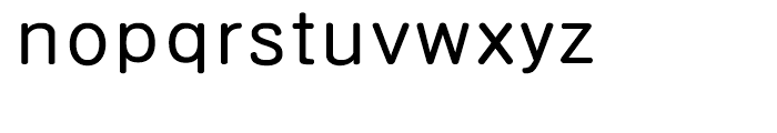 HY Gothic Rounded Bold Font LOWERCASE