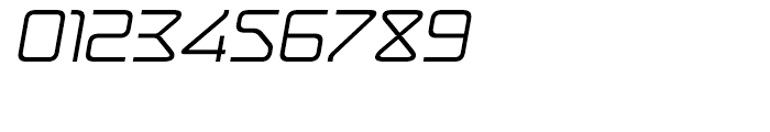 Hydrogen Italic Font OTHER CHARS