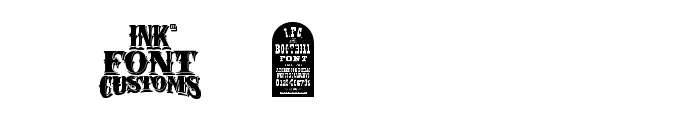 I.F.C. BOOTHILL Font OTHER CHARS