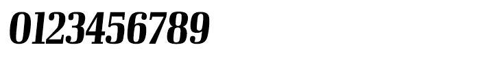 Ibis Display Compressed Bold Italic Font OTHER CHARS