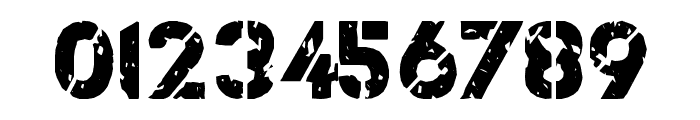 ICBM SS-25 Font OTHER CHARS