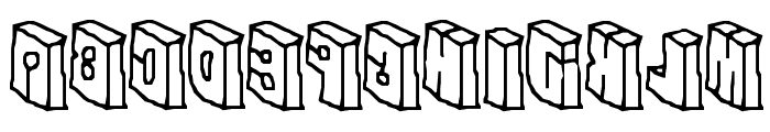 In The Flesh Font LOWERCASE