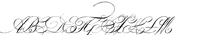 Indenture English Penman Demo Font UPPERCASE