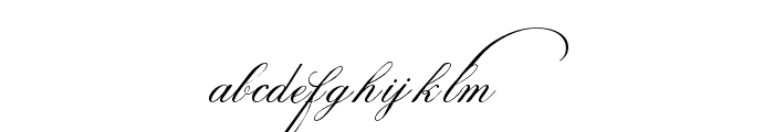 Indenture English Penman Demo Font LOWERCASE