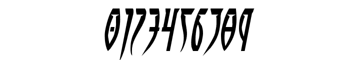 Inhumanity Expanded Italic Font OTHER CHARS