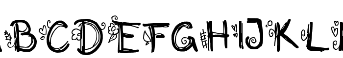 Initialized Font UPPERCASE