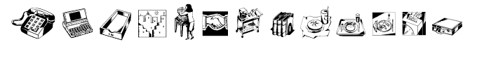 Industrials One Font UPPERCASE