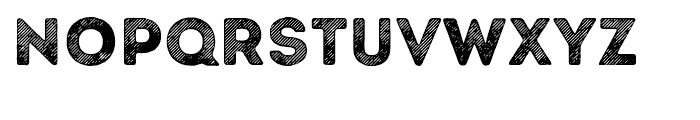 Intro Rust Line Base Font UPPERCASE