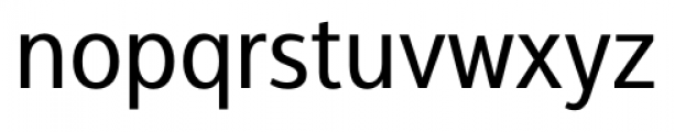 Interval Next Narrow Book Font LOWERCASE