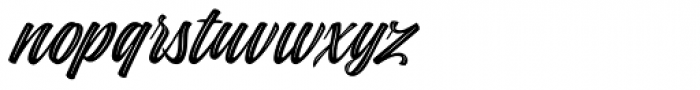 Indie Inline Font LOWERCASE