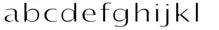 Intention Font LOWERCASE