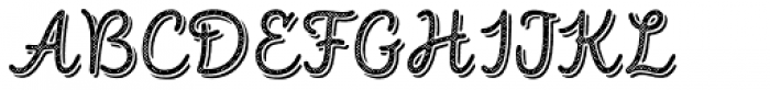 Intro Script R H1 Base Shade Font UPPERCASE