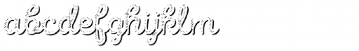 Intro Script R H1 Shade Font LOWERCASE