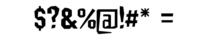 IsleOfTheDead Font OTHER CHARS