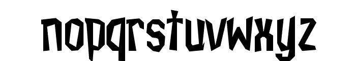 IsleOfTheDead Font LOWERCASE