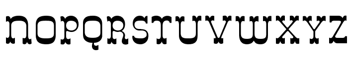 Italy B Font LOWERCASE