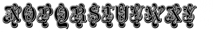 ITC Masquerade Std Regular Font UPPERCASE