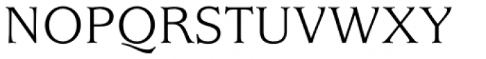 ITC Usherwood Std Book Font UPPERCASE