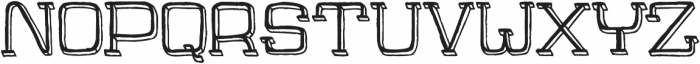 Jaywalk-With-Shadow ttf (400) Font UPPERCASE