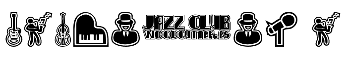 Jazz Club Font OTHER CHARS
