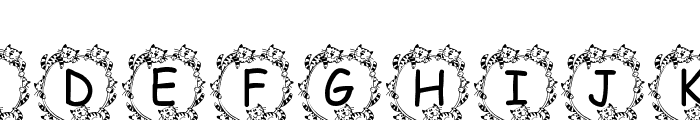 Jenna s Kitties Font LOWERCASE