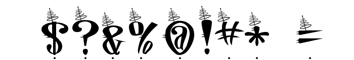 Jetson Font OTHER CHARS
