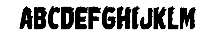 Johnny Torch Condensed Font UPPERCASE
