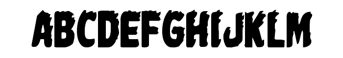 Johnny Torch Condensed Font LOWERCASE