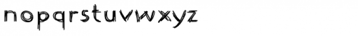 Johnend Font LOWERCASE