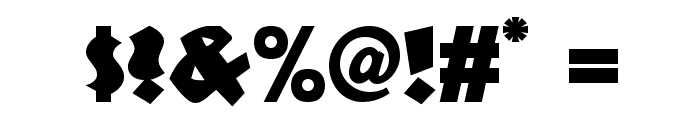 Jungle Fever NF Font OTHER CHARS