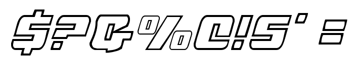 Justice Font OTHER CHARS