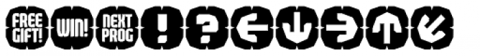 Judgement Icons Font UPPERCASE