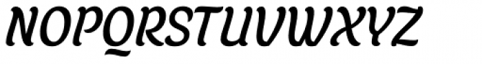 Juno Semicondensed Italic Font UPPERCASE