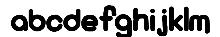 KaBoom New Font LOWERCASE